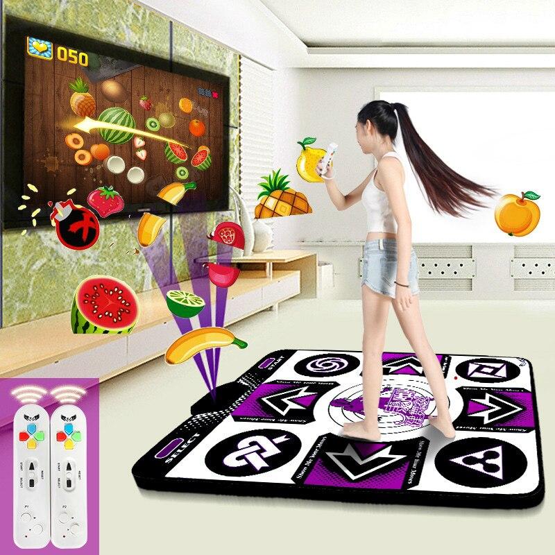 Cdragon tapis de danse pad détection de mouvement 11mm sans fil pour ordinateur/TV jeu fitness livraison gratuite