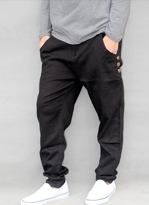 Online Buy Wholesale black tapered pants from China black tapered ...