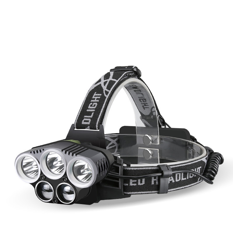 Headlight XML T6 Headlamp Rechargeable Head Lamp Light 6 Mode Torch 2x18650 Battery with Usb Charger for Fishing Lights maimu 8000lm usb power led headlamp cree xml t6 3 modes rechargeable headlight head lamp torch for hunting 18650 head light d14