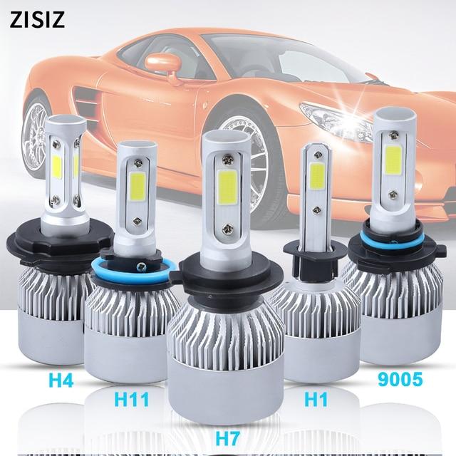 h1 led Car Headlight COB Chip Led H1 h7 led bulbs H11 H8 H9 9005 HB3 H10 9006 HB4 H4 Lamp Auto Accessories 6000k Canbus 3500LM