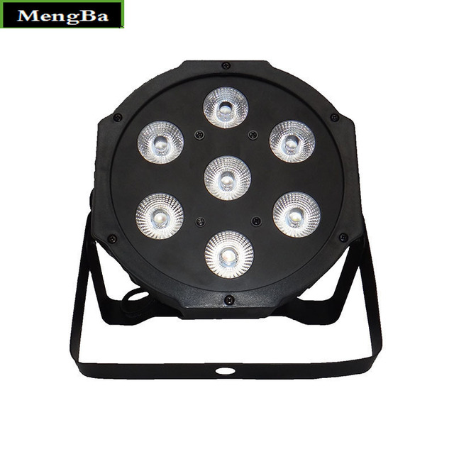 2pcs/lot Wireless Remote Control LED American DJ LED SlimPar 7x12W RGBW 4IN1 Wash Light Stage Uplighting No NoiseFast Shipping