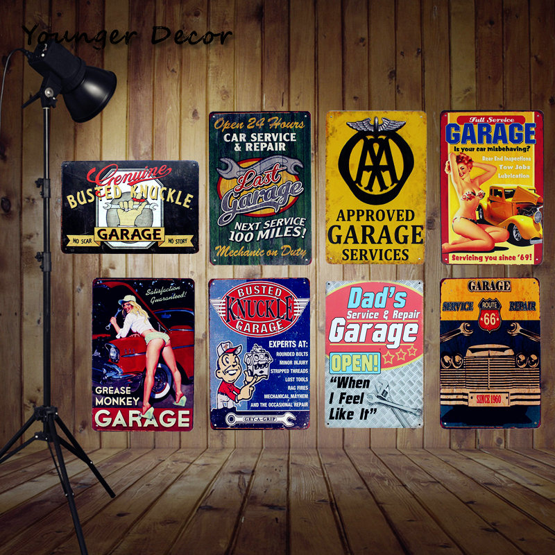 Vintage Home Wall Decor Open 24 Hours Car Service Amp Repair