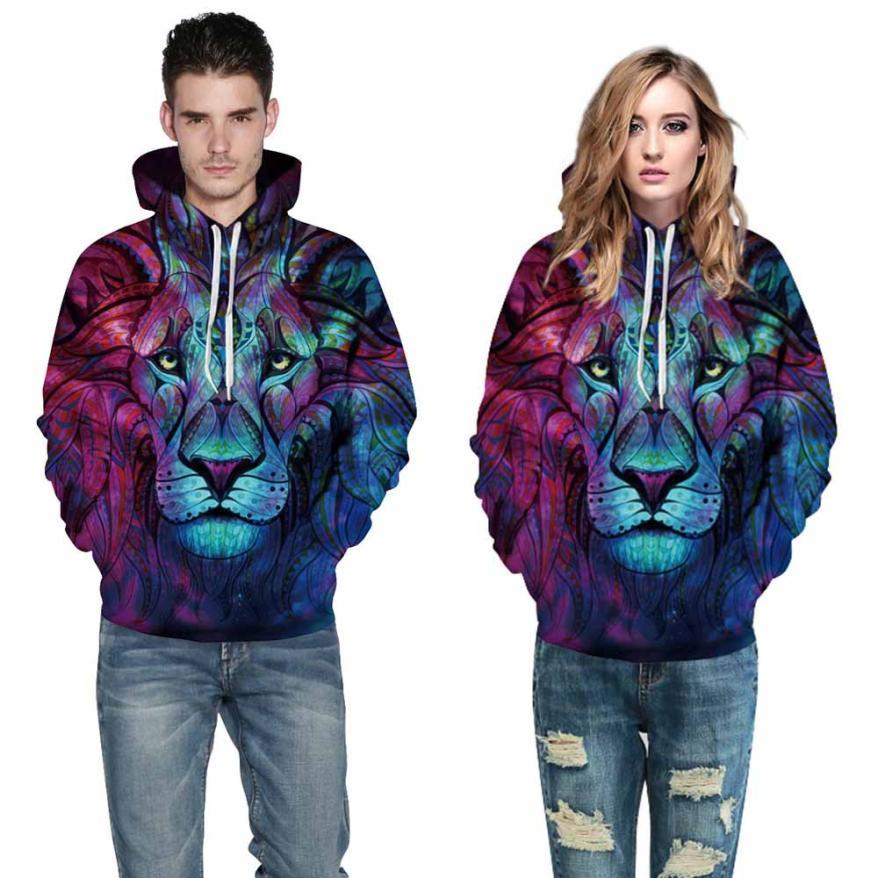 Free Ostrich Sweatshirt Hoodies Autumn Sweatshirt New Fashion Animal 3D Print Men/Women Long Sleeve harajuku sudadera mujer S40