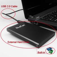 External Hard Drive Disk Extern USB 2.0 HDD Esterno Portable Hard Drive Hrdtac_80GB for Windows/Mac OS