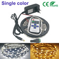 White/warm white Single Color LED Strip DC12V 300LEDs/5m 5050SMD Flexible Light Tiras+Single color switch+2A power Light Garland