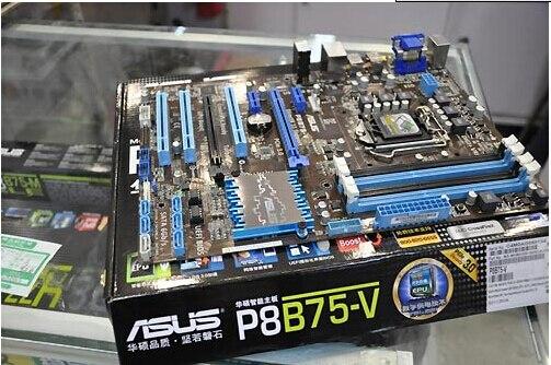 Asus P8B75-V 1155 Large Board The B75 mainboard supports the E3 1230 V2 90%new b75 pro3 large panel 4 ram slot motherboard sata3 0 a 1155 e3 1230 v2 i5 3470