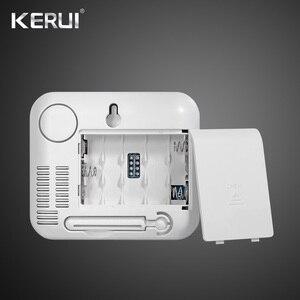 Image 4 - Kerui 433mhz atualizado sem fio display led de temperatura ajustável alarme detector sensor proteção para casa sistema alarme