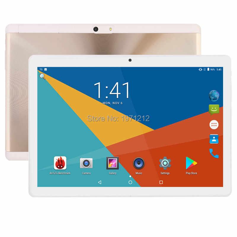 10 インチ 3 グラム 4 グラム LTE タブレット pc オクタコア IPS ギガバイト 4 RAM ギガバイト 128 Rom アンドロイド 8.0 wifi の Bluetooth Gps のタブレット 7 8 9 10.1 + ギフト 2.5D 画面