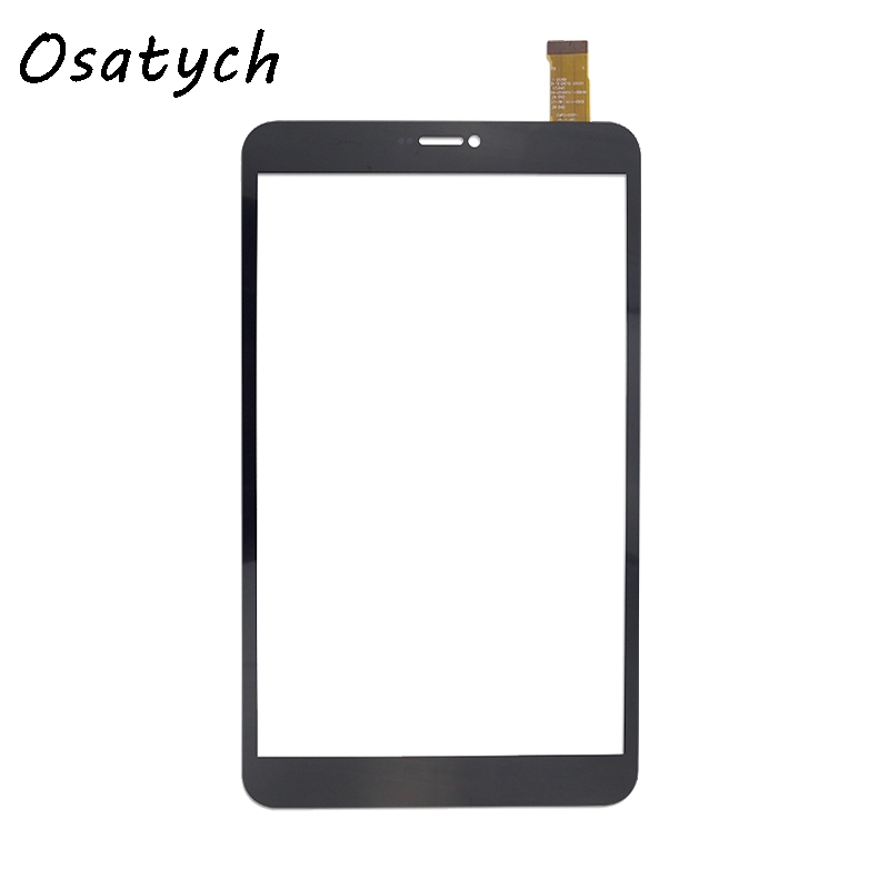 8 Inch Black Touch Screen for dxp2-0331-080a-fpc touch screen digitizer sensor tablet panel repairment free shipping