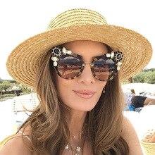 Solo Tu Новый стильный Cateye женские со стразами солнцезащитные очки Брендовая Дизайнерская обувь Роскошные личность уютный оттенки солнцезащитные очки UV400