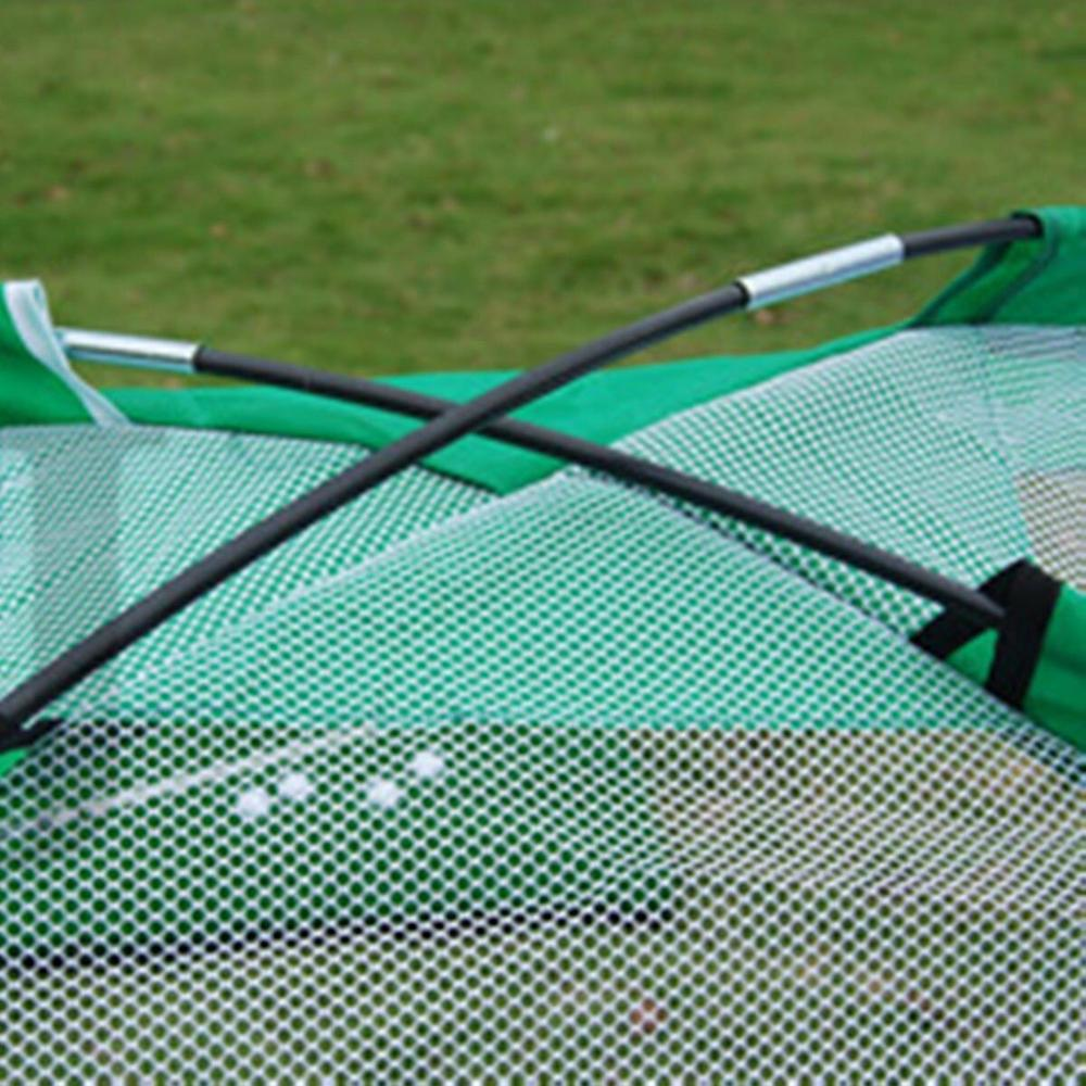 Golf Hitting Net Outdoor Sports Portable Practice Cage Indoor Garden Trainer 2M 9