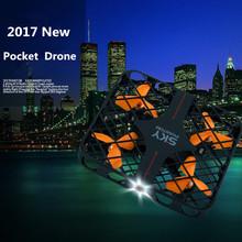 2017 Newest Square mesh Mini rc Pocket  drone 2.4G 4ch  6Axis headless 3D Flip RC Quadcopter UFO Toy Kit Nano RC Drone vs x12s