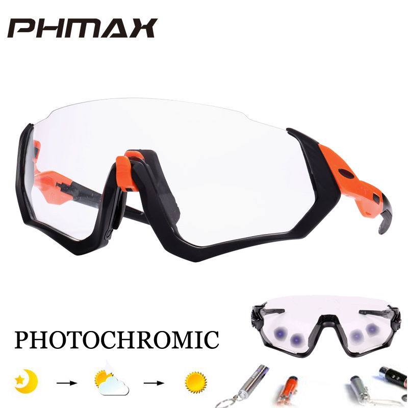 cf8f8ab30c Detail Feedback Questions about PHMAX Polarized   Photochromic Cycling  Sunglasses Mountain Bike Goggles Cycling Eyewear Bicycle Sunglasses Cycling  Glasses ...