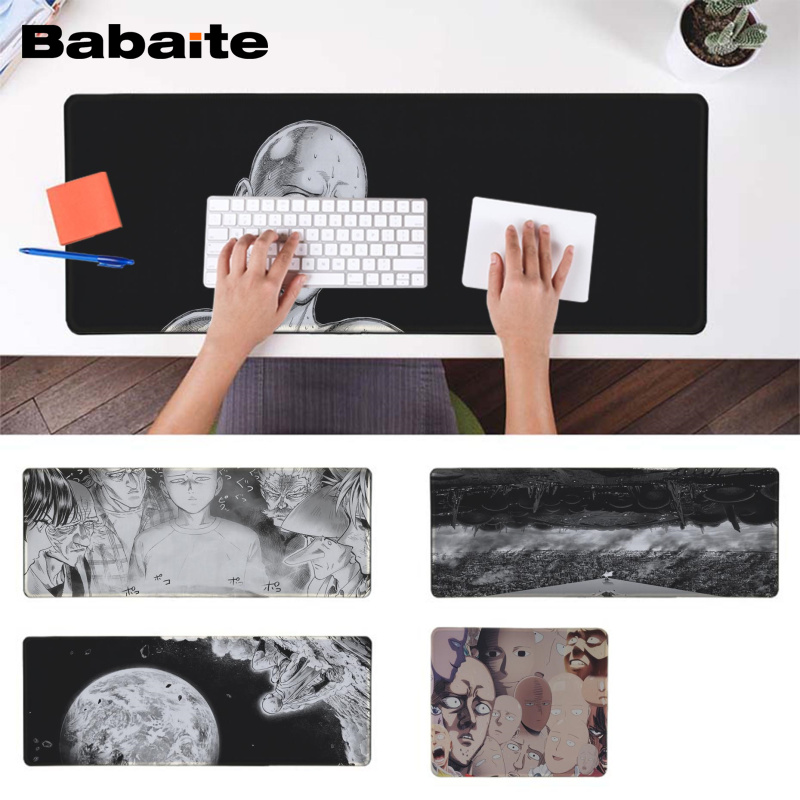 Babaite  ONE PUNCH-MAN Gamer Speed Mice Retail Small Rubber Mousepad Speed/Control Version Large Gaming Mouse Pad