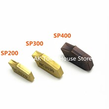 Grooving tool SP300 SP400 SP200 NC3020 NC3030 PC9030 new slotted and carbide insert turning