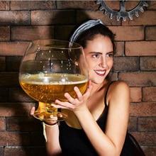 Grand verre à vin pour fête, amusant de 2000ml ou 4000ml