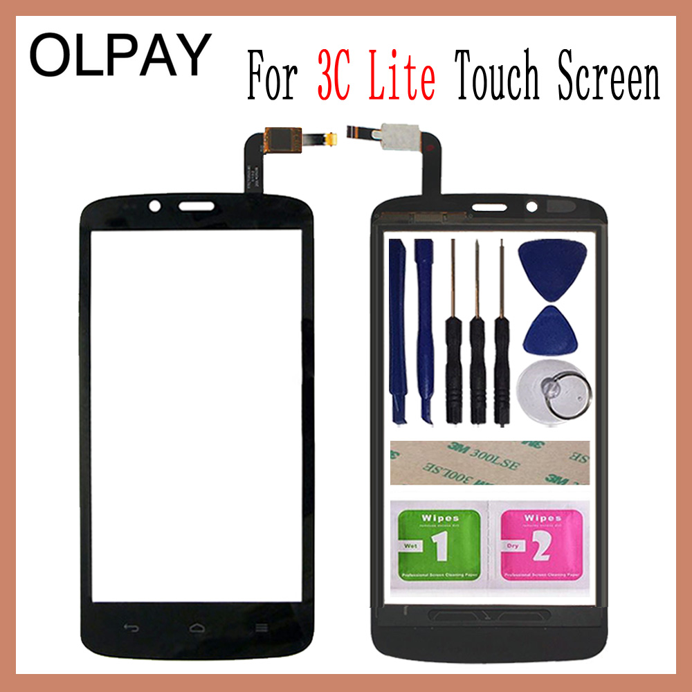5.0 Inch Mobile Phone Touch Screen Digitizer For Huawei Honor 3C Lite Play HOL U19 Touch Glass Sensor Free Tools