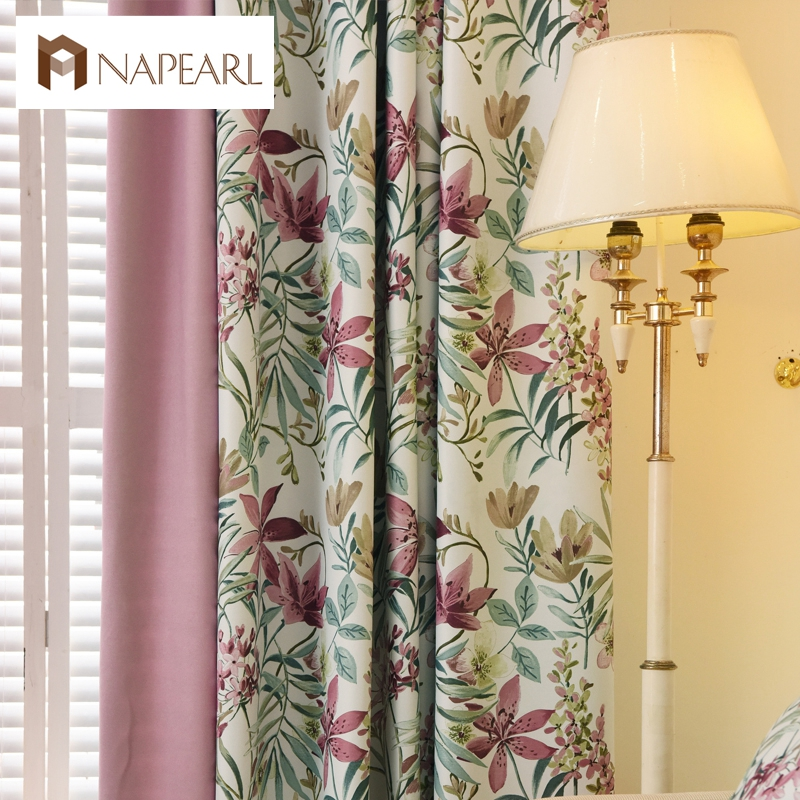 Bed room curtains factory girls room curtains blinds custom living room items curtains voile window shade room darkening