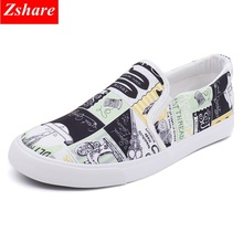 2019 fashion mens shoes casual hip hop men canvas shoes for men loafers comfortable breathable slip on shoes man flats footwear цены онлайн