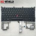 Nueva original para ibm lenovo thinkpad helix type-3xxx 0c45365 ee. uu. inglés teclado 04x0260 04x0261