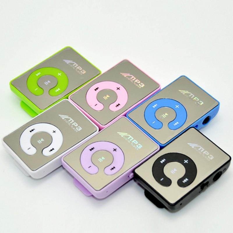 Переносной мини Зажимы MP3-плееры Спортивные MP3 плеера USB Media Player Поддержка S & MP3-плееры Поддержка TFcard с наушников