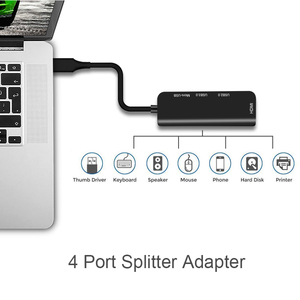 Image 5 - USB C Sang USB 3.0 2.0 HUB HDMI Cho Thunderbolt 3 Adapter Cho MacBook Samsung Galaxy S9 Huawei P20 Giao Phối 20 Pro Type C USB HUB