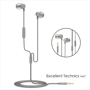 Image 5 - 100% Original UiiSii HM7 Metal In ear Earphone Super Bass DJ Stereo music Headset with Mic  3.5mm for iPhone /xiaomi Phone PC