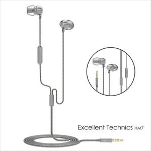 Image 5 - 100% Original UiiSii HM7 Metall In ohr Kopfhörer Super Bass DJ Stereo musik Headset mit Mic 3,5mm für iPhone/ xiaomi Telefon PC