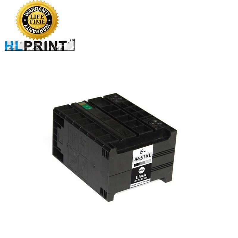 T8651 8651XL cartucho de tinta compatible para Epson Workforce pro WF M5191 M5190 M5690 impresora tinta de pigmento