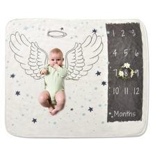 2018 Infant Baby Milestone Blanket Photo
