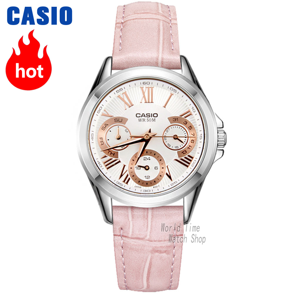 Casio watch Analogue Women's Quartz Sports Watch Pointer Waterproof Watch LTP-E308 casio watch ladies watch fashion casual simple waterproof quartz ladies watch ltp v007l 7e2 ltp v007d 7e ltp v007d 2e