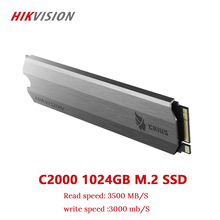 HIKVISION SSD M2 1TB 1024GB PCIe NVME C2000 For Desktop Laptop Small server  Solid State Drive PCI e Gen 3 x 4 10 year warranty