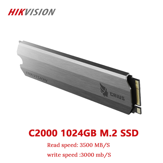 HIKVISION SSD M2 1TB 1024GB PCIe NVME C2000 למחשב שולחני קטן שרת מוצק מדינת כונן PCI e Gen 3x4 10 שנה אחריות