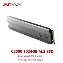 Hikvision ssd m2 1tb 1024gb pcie nvme c2000 para desktop portátil pequeno servidor unidade de estado sólido pci e gen 3x4 garantia de 10 anos