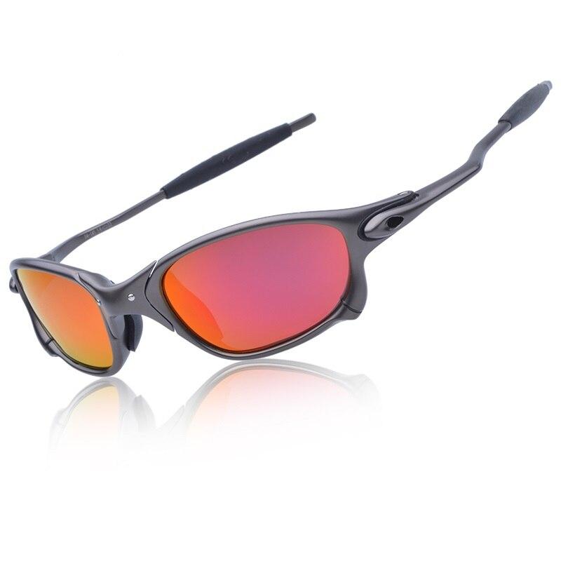 MTB Polarisierte Lauf Brille Legierung Rahmen Radfahren Gläser UV400 Reiten Brillen Fahrrad Sonnenbrille Fahrrad Brille Oculos gafas D4-3
