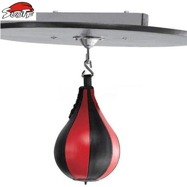 Suotf Muay Thai Boxer Target Boxing Sport Of Mma Ball Sd Standing Bag