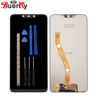 BKparts Tested 6.3 For Huawei Nova 3i INE AL00 INE TL00 INE LX2 Full LCD Display Touch Screen Digitizer Complete Assembly