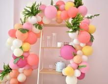 METABLE Pink Balloons Arch Garland Kit 100pcs Pastel Party Macaron Baby Shower, Anniversary Organic Decor