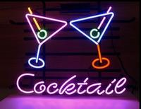 Custom Cocktail Martini Beer Glass Neon Light Sign Beer Bar