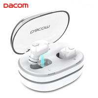 DACOM K6H Off White True Ear Buds Mini Earbuds TWS Twins Bluetooth Earphones Wireless Headphone with Microphone for Mobile Phone