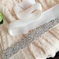 Handmade Women Belt European and American Popular Fashion Clothing Rhinestones Accessories Bride Wedding Dress Belts Sashes
