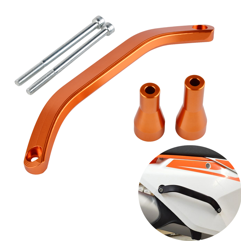 NICECNC Aluminum Rear Grab Handle for KTM EXCF XCW 250 350 500 300 150 2017 2018 2019 SX SXF XC XCF 125 150 250 450 2016-2018