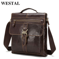 Vintage Men Bag Cowhide Leather Men Messenger Bag Travel Bags Crossbody Coffer Genuine Leather Bags For