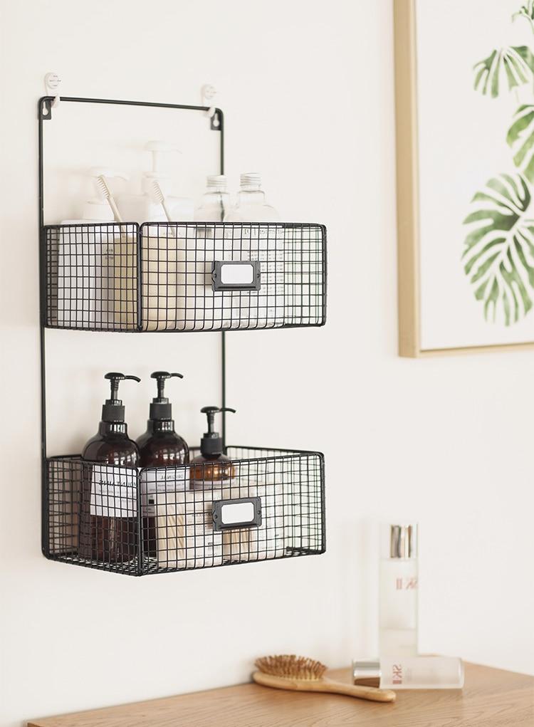 Home-Office-Organiser-Office-Storage-Desk-Organisation-Hanging-Rack-Basket-Metal-Bedroom-Bath-Room-Table-Decoration-Black-White-012