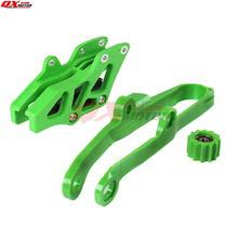 Free shipping Chain Slider Swingarm Guide Lower Roller + Rear Chian Guide Guard Kits For WR250F WR450F YZ250F YZ450F NEW Green original duplicator cartridge guide lower fit for riso ev rv rz 023 17155 free shipping