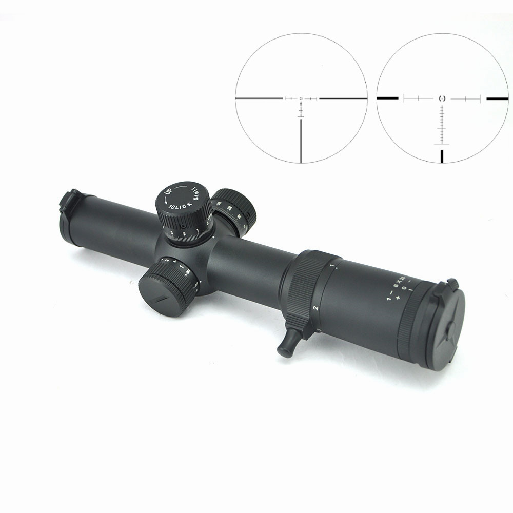 Visionking Optics 1 8x26 FFP Hunting Rifle Scope 1 10 Mil 35mm Scope W 21mm Rings