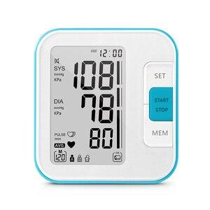 Image 2 - Cigii grand moniteur numérique LCD de pression artérielle du bras, tonomètre, moniteur pression artérielle, soins à domicile, 2 bandes de poignets