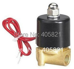 цены 3/8'' DC 24V 2 Way 2 Position Pneumatic Solenoid Valve 2W-040-10
