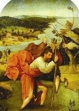 Декоративная забавная магнита библейская история st_christopher
