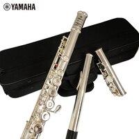 Топ Япония флейта YFL 271 16 отверстие Стандартный Никель серебро студент поперечная флейта обтюратор C Ключ с E ключ Бамбуковые флейты